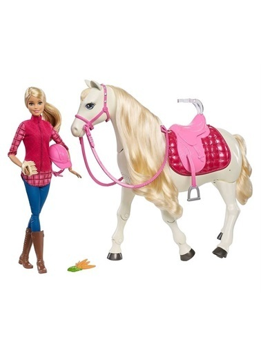Barbie Barbie ve Muhteşem Atı Frv36 Renkli
